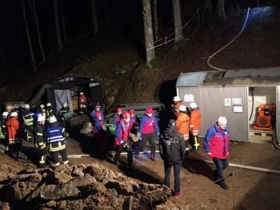 Foto zur Meldung: Rettungsübung Stollen 4