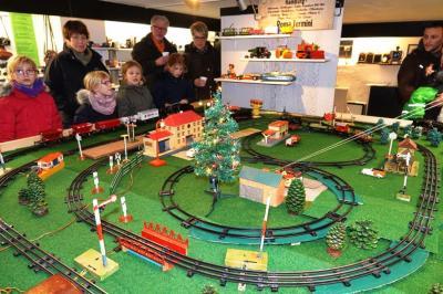 Vor allem die jüngsten Besucher waren fasziniert von den verschiedenen Zügen auf der Anlage.