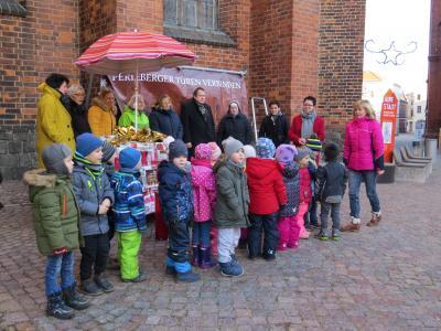 Stadt Perleberg | Pressetermin zur Eröffnung des Adventskalenders 2018