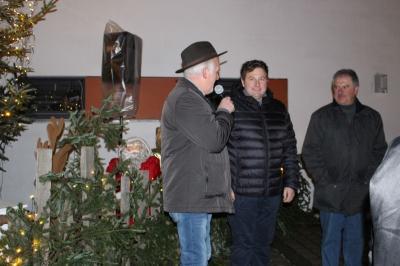 Foto zur Meldung: Der Moosbacher Weihnachtsmarkt ging in die 21. Runde