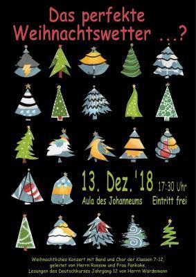 Vorschaubild zur Meldung: Weihnachtliches Konzert mit Band und Chor am 13.12.2018