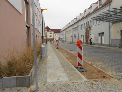 Vorschaubild zur Meldung: Schulstraße: Absperrung geht, Absperrung kommt