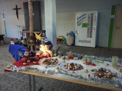 Foto zur Meldung: Vorweihnachtliche Stimmung beim Elternsprechtag