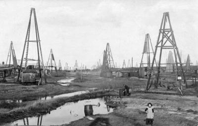 Das Wietzer Ölfeld um 1917