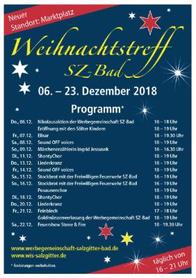 Vorschaubild zur Meldung: Weihnachtstreff Salzgitter-Bad in neuem Gewand