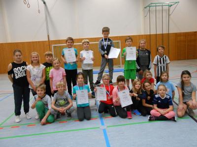 Foto zur Meldung: 11 Jahre gemeinsamer Hochsprungwettkampf  Bad Wilsnack-Glöwen