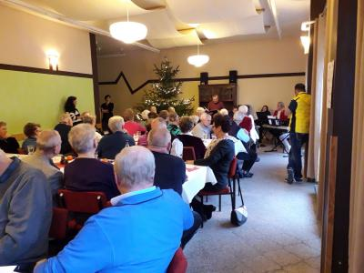 Foto zur Meldung: Seniorenweihnachtsfeier 2018