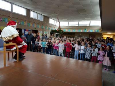Vorschaubild zur Meldung: Hoher Besuch an der Nordschule am Nikolaustag!