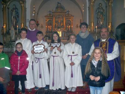 Foto zur Meldung: 2. Advent in der Pfarrkirche St. Georg - Familiengottesdienst