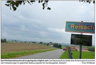 Foto zur Meldung: Viel Grün im Wohn- und Gewerbegebiet
