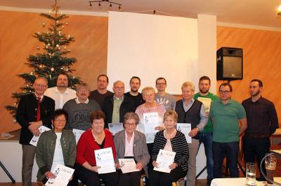 Foto zur Meldung: Jahresabschlussfeier beim SV – Gemeinsam können wir das Vereinsleben erfolgreich gestalten
