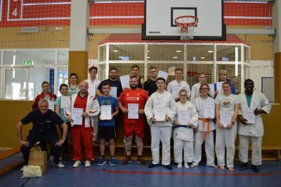 Foto zur Meldung: Übungsleiterausbildung Breitensport C erfolgreich absolviert