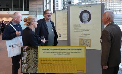 Thaer und der Boden - Ausstellung im Bundespresseamt (Foto: H.Schäfer)