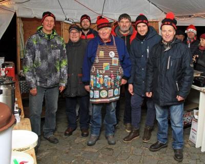 Crew des ESV auf dem Nikolausmarkt 2018