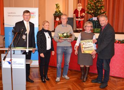 Foto zur Meldung: Winfried Böhmer für seine Lebensleistung im Naturschutz geehrt