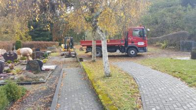 Vorschaubild zur Meldung: Friedhofsarbeiten