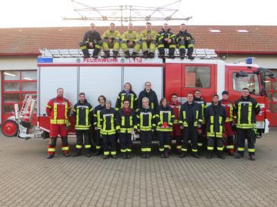 Foto zur Meldung: 20 neue Einsatzkräfte für die Region