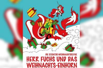 Herr Fuchs und das Weihnachtseinhorn