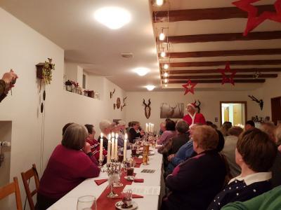 Foto zur Meldung: Weihnachtsfeier der Herzsportgruppe
