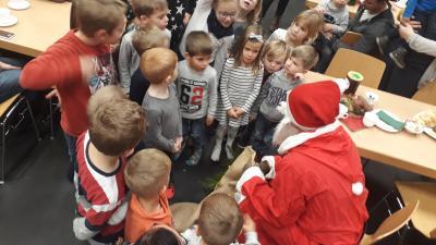 Vorschaubild zur Meldung: Kinderweihnachtsfeier im KUK