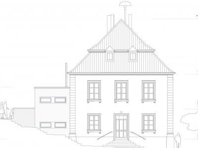 Vorschaubild zur Meldung: Planungsstand zur Sanierung der Alten Schule