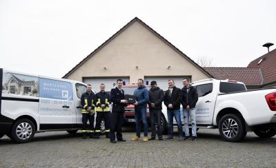 Foto zur Meldung: Wir sagen Danke! Freiwilligen Feuerwehr Uelitz