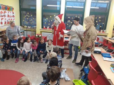 Vorschaubild zur Meldung: Überraschungsbesuch vom Nikolaus