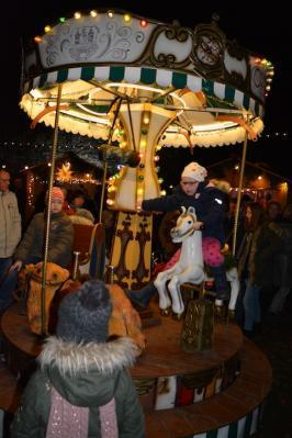 Der Weihnachtsmarkt auf der Wasserburg Grabow