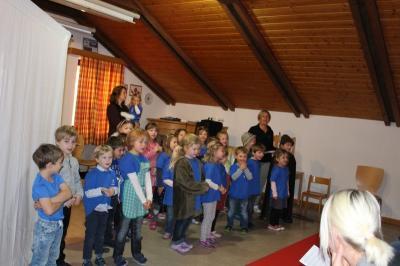 Foto zur Meldung: Adventfeier im Kindergarten