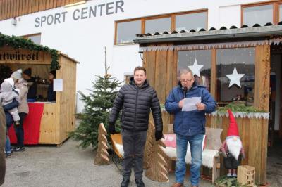 Vorschaubild zur Meldung: Siebter Weihnachtsmarkt trotz frostiger Temperaturen wieder ein toller Erfolg