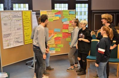 Foto zur Meldung: Nauen - Jugendpolitik: Viele Fragen an die Politiker beim KommunalWahlCheck