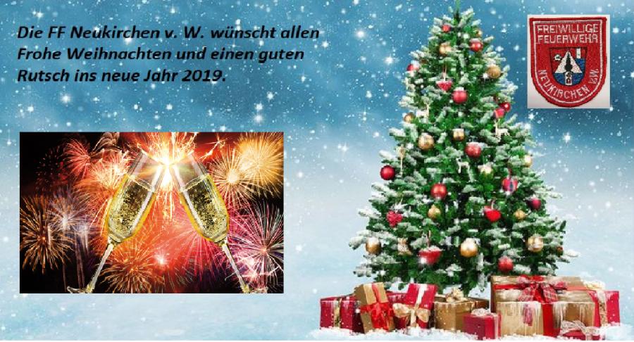 Frohe Weihnachten Einen Guten Rutsch Ins Neue Jahr.Ortsfeuerwehr Neukirchen Frohe Weihnachten Und Einen Guten Rutsch
