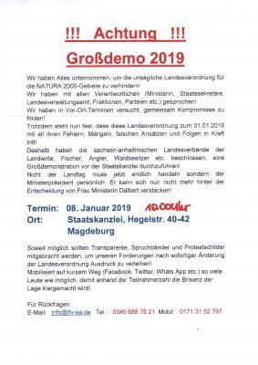 Foto zur Meldung: Groß-Demo 2019