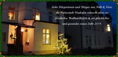 Foto zur Meldung: Beste Weihnachts- & Neujahrsgrüße