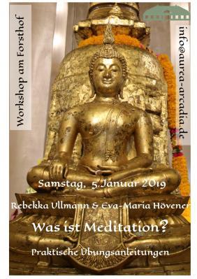 Vorschaubild zur Meldung: Workshop am Forsthof Mestlin Thema: Was ist Meditation
