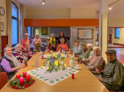 Vorschaubild zur Meldung: Weihnachtsfeier beim AWO Seniorennachmittag