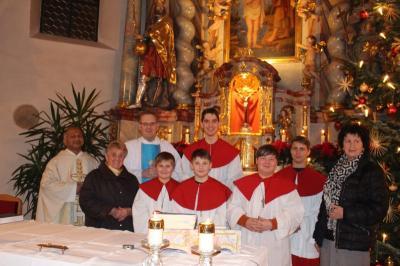 Vorschaubild zur Meldung: Feierlicher Gottesdienst zum Jahresschluss in der Pfarrkirche St. Johannes
