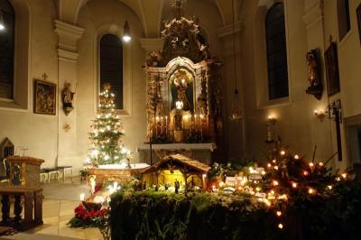 Foto zur Meldung: Christmette in der Pfarrkirche St. Georg