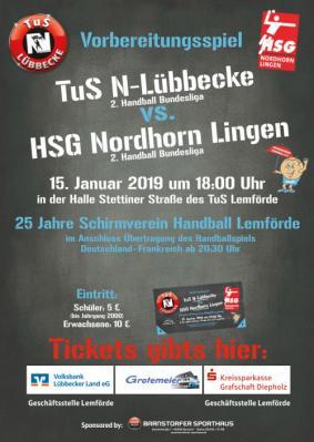 TuS-N-Lübbecke vs. HSG Nordhorn-Lingen