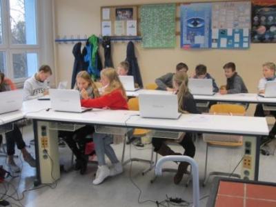 Foto zur Meldung: Workshop Klasse 6