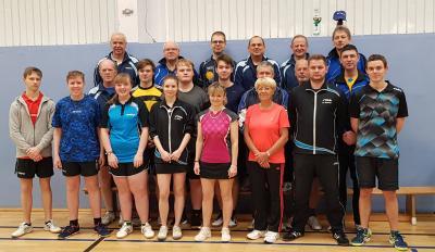 Foto zur Meldung: Tischtennis-Silvesterpokal des TSV 1919 Kusey