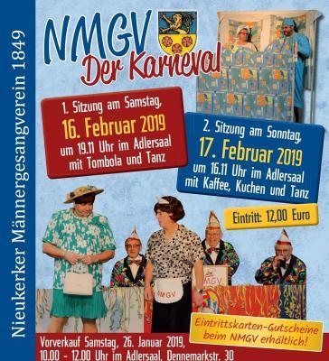 Vorschaubild zur Meldung: 26. Januar 2019 Kartenvorverkauf für Karneval