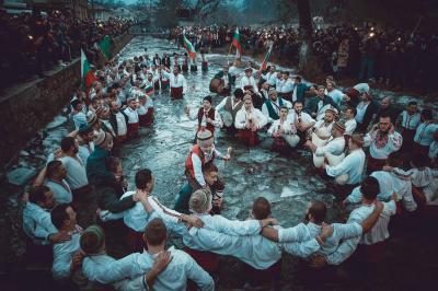 Das Dreikönigsfest ist in Bulgarien eine landesweite Tradition