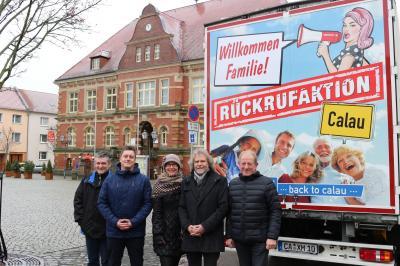 """Foto zur Meldung: Calau schickt den """"Rückkehr-Express"""" auf die Straßen der Republik"""