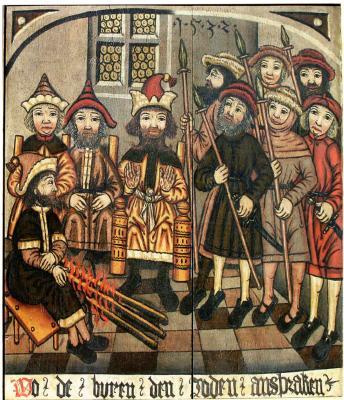 Durch die Referentin freigegebenes Bildmotiv | Legendentafel Heiligengrabe