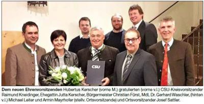 Vorschaubild zur Meldung: Dreikönigstreffen der CSU