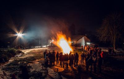 Vorschaubild zur Meldung: Christbaumglühen 2019 war wieder ein Erfolg