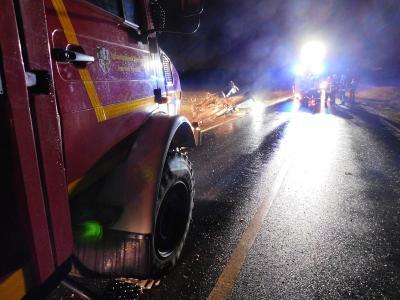 Vorschaubild zur Meldung: +++Verkehrsunfall bei Partenheim+++
