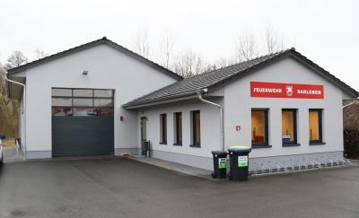 Foto zur Meldung: Einweihung des Gemeindehauses/Feuerwehrstützpunktes Saßleben am Freitag
