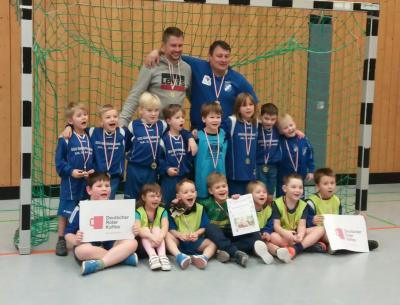 Vorschaubild zur Meldung: G-Junioren spielten ihr erstes Turnier in Worbis!